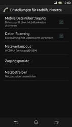 Sony Xperia Z - Netzwerk - Netzwerkeinstellungen ändern - 6 / 7