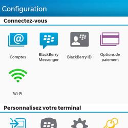 BlackBerry Q10 - E-mail - Configuration manuelle - Étape 4