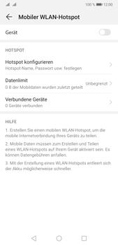 Huawei P20 Pro - Android Pie - WiFi - So aktivieren Sie einen WLAN-Hotspot - Schritt 6