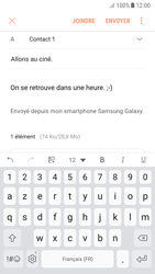 Samsung A520F Galaxy A5 (2017) - Android Nougat - E-mail - Envoi d