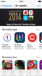 Apple iPhone 5c - iOS 8 - Applications - Comment vérifier les mises à jour des applications - Étape 3