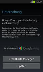 Samsung I9100 Galaxy S2 mit Android 4.1 - Apps - Konto anlegen und einrichten - Schritt 20