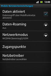 Sony Xperia Go - Ausland - Im Ausland surfen – Datenroaming - 8 / 12