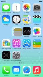 Apple iPhone 5c - Startanleitung - Personalisieren der Startseite - Schritt 4