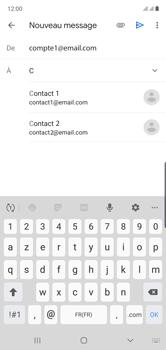 Samsung Galaxy Note 10 - E-mails - Envoyer un e-mail - Étape 7