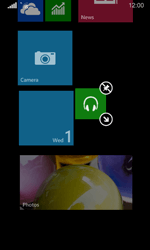Nokia Lumia 635 - Getting started - Personalising your Start screen - Step 11