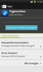 Samsung I9000 Galaxy S - Apps - Herunterladen - Schritt 8