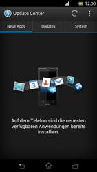 Sony Xperia T - Software - Installieren von Software-Updates - Schritt 7