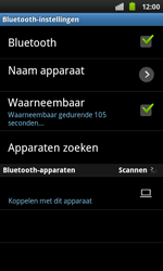 Samsung I9001 Galaxy S Plus - bluetooth - aanzetten - stap 6