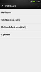HTC Desire 601 - SMS - handmatig instellen - Stap 7