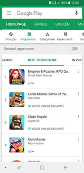 Samsung galaxy-a8-2018-sm-a530f-android-oreo - Applicaties - Downloaden - Stap 7