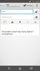 Sony Xperia Z3 Compact 4G (D5803) - E-mail - Hoe te versturen - Stap 5