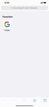 Apple iPhone 11 Pro Max - Internet und Datenroaming - Verwenden des Internets - Schritt 13