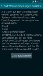 Samsung Galaxy S5 - Fehlerbehebung - Handy zurücksetzen - 8 / 11