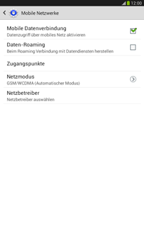 Samsung Galaxy Tab 3 7-0 - Internet - Apn-Einstellungen - 2 / 2