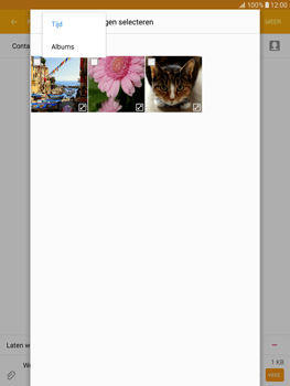 Samsung T815 Galaxy Tab S2 9.7 - MMS - Afbeeldingen verzenden - Stap 20