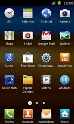 Samsung Galaxy S Advance - Internet und Datenroaming - Verwenden des Internets - Schritt 3