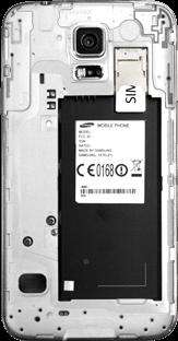 Samsung G903F Galaxy S5 Neo - SIM-Karte - Einlegen - Schritt 3