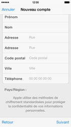 Apple iPhone 5s - Applications - Configuration de votre store d