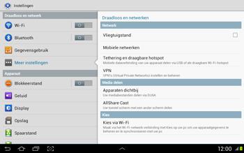 Samsung N8020 Galaxy Note 10-1 LTE - Internet - Handmatig instellen - Stap 4