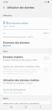 Samsung Galaxy A10 - Internet et connexion - Désactiver la connexion Internet - Étape 7