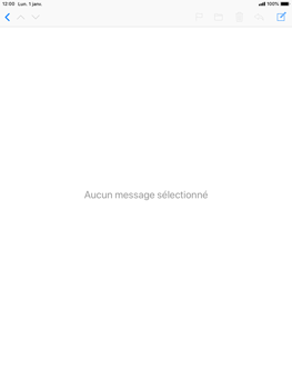 Apple iPad Air iOS 12 - E-mail - envoyer un e-mail - Étape 2