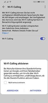 Huawei P30 Lite - WiFi - WiFi Calling aktivieren - Schritt 8