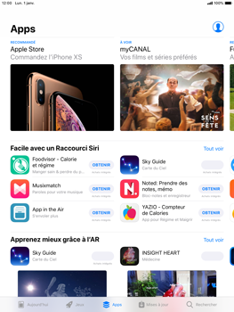 Apple iPad Mini 3 - iOS 12 - Applications - Télécharger des applications - Étape 7
