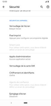 Google Pixel 3a - Sécuriser votre mobile - Personnaliser le code PIN de votre carte SIM - Étape 6