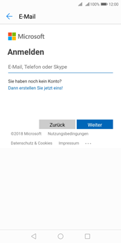Huawei Y7 (2018) - E-Mail - 032c. Email wizard - Outlook - Schritt 5