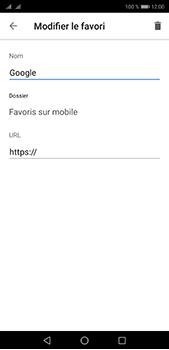 Huawei P20 pro - Internet et connexion - Naviguer sur internet - Étape 10