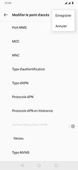OnePlus 6T - Internet - Configuration manuelle - Étape 16