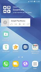 Samsung Galaxy A3 (2017) - Operazioni iniziali - Installazione di widget e applicazioni nella schermata iniziale - Fase 9