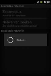 Sony ST21i Xperia Tipo - Netwerk - Handmatig netwerk selecteren - Stap 10