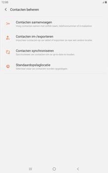 Samsung galaxy-tab-a-8-0-lte-2019-sm-t295 - Contacten en data - Contacten kopiëren van SIM naar toestel - Stap 6
