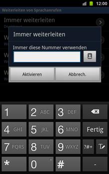 Samsung N7000 Galaxy Note - Anrufe - Rufumleitungen setzen und löschen - Schritt 8