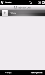 HTC T8585 HD II - MMS - handmatig instellen - Stap 16