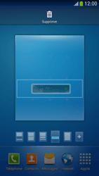 Samsung Galaxy S 4 Mini LTE - Prise en main - Installation de widgets et d