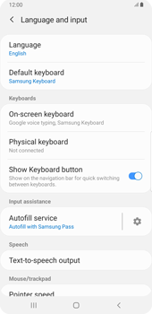 Samsung Galaxy S9 Plus - Android Pie - Getting started - How to add a keyboard language - Step 6