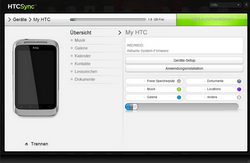 HTC A7272 Desire Z - Software - Sicherungskopie Ihrer Daten erstellen - Schritt 8