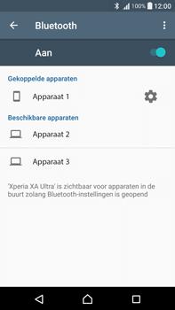 Sony Xperia XA Ultra (F3211) - bluetooth - headset, carkit verbinding - stap 8
