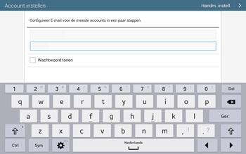 Samsung T535 Galaxy Tab 4 10-1 - E-mail - Account instellen (POP3 zonder SMTP-verificatie) - Stap 6