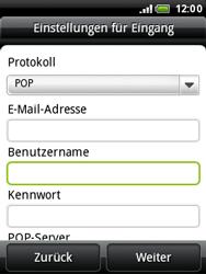HTC A3333 Wildfire - E-Mail - Konto einrichten - Schritt 8