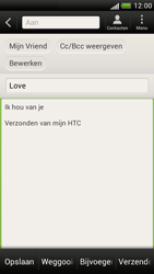 HTC Z520e One S - E-mail - E-mail versturen - Stap 9