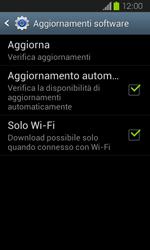 Samsung Galaxy Express - Software - Installazione degli aggiornamenti software - Fase 7