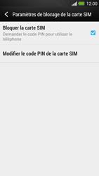 HTC One - Sécuriser votre mobile - Personnaliser le code PIN de votre carte SIM - Étape 6