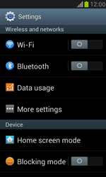 Samsung I8190 Galaxy S III Mini - Network - Change networkmode - Step 5