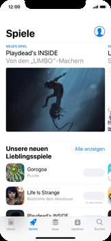 Apple iPhone X - Apps - Installieren von Apps - Schritt 4