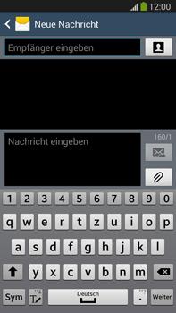 Samsung N9005 Galaxy Note 3 LTE - MMS - Erstellen und senden - Schritt 7