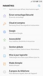 Samsung Galaxy J3 (2017) - Sécuriser votre mobile - Personnaliser le code PIN de votre carte SIM - Étape 4